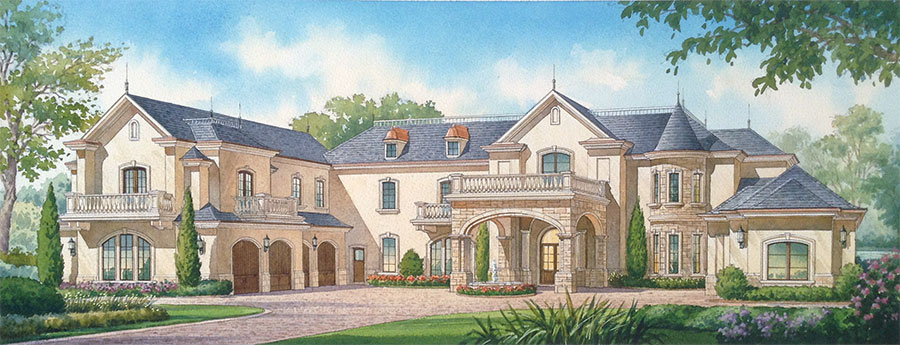 Yeoman Residence Rendering