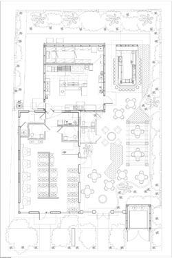 Zen Bistro Restaurant Floor Plan